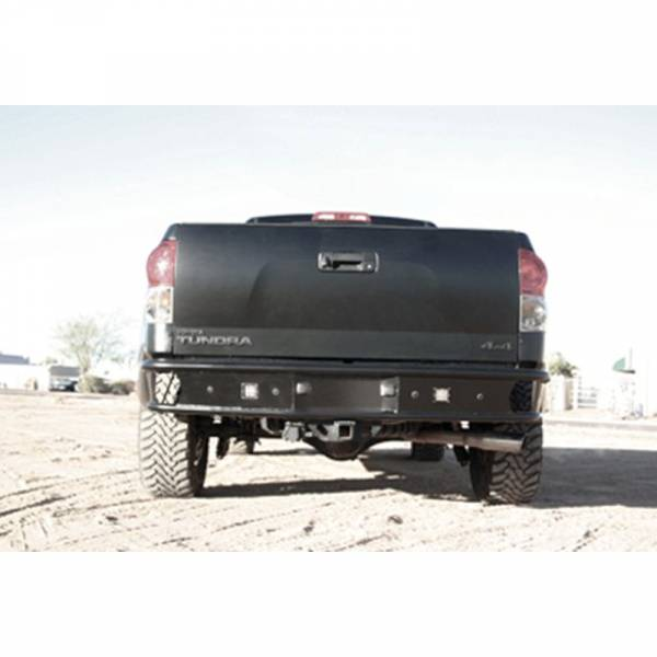 LEX - LEX TTUR1 Rear Bumper for Toyota Tundra 2007-2013