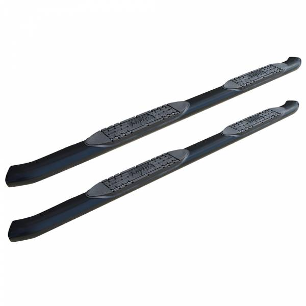 Raptor - Raptor 1502-0380B OE Style Cab Length Nerf Bars for Dodge Ram 1500 Standard Cab 2002-2008 - Black E-Coated