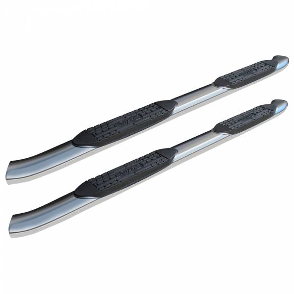 Raptor - Raptor 1603-0056 OE Style Cab Length Nerf Bars for Ford F150 SuperCrew Cab 2004-2008 - Polished Stainless Steel