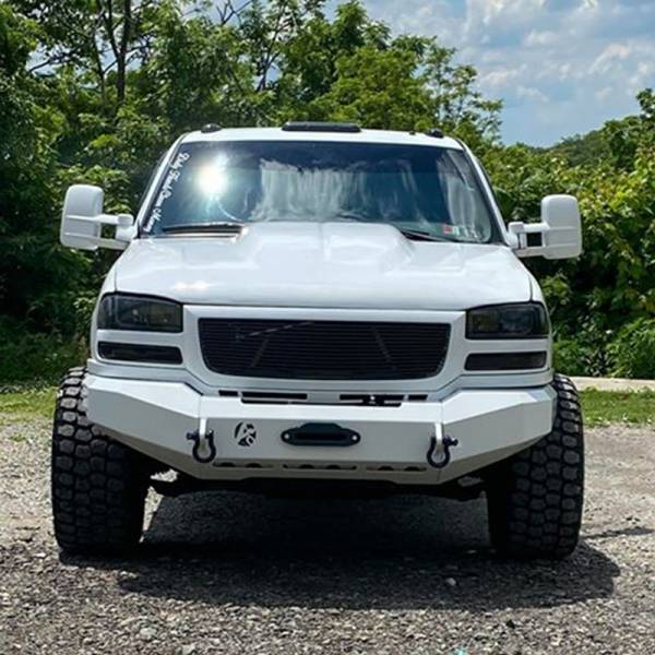 Affordable Offroad - Affordable Offroad Full Size Truck Modular Front Bumper for GMC Sierra 2500 HD/3500 HD 1999-2007