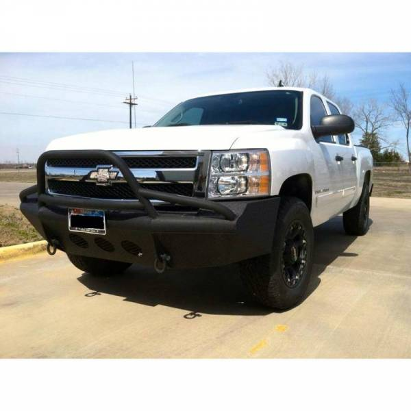 Bodyguard - Bodyguard TFGC076X Traditional Sport Front Bumper for Chevrolet Tahoe/Suburban 2007-2014
