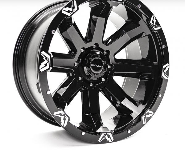 """Fab Fours - Fab Fours 24"""" x 12"""" Wheel Package Set of 4"""