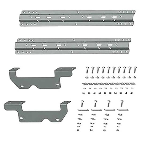 B&W - B&W RVK2403 Universal Mounting Rails with Custom Installation Brackets for Ford F-150 2015-2020