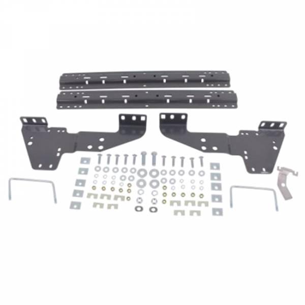 B&W - B&W RVK2500 Universal Mounting Rails with Custom Installation Brackets for Chevy Silverado and GMC Sierra 2500/3500 2001-2010