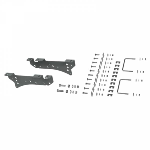 B&W - B&W RVR2400 Universal Mounting Rails with Custom Installation Brackets for Ford F-250/F-350 2005-2010