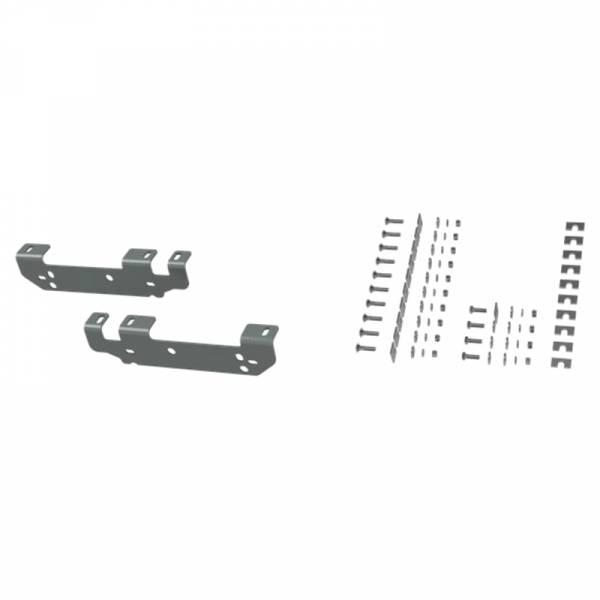 B&W - B&W RVR2401 Universal Mounting Rails with Custom Installation Brackets for Ford F-250/F-350 2011-2016