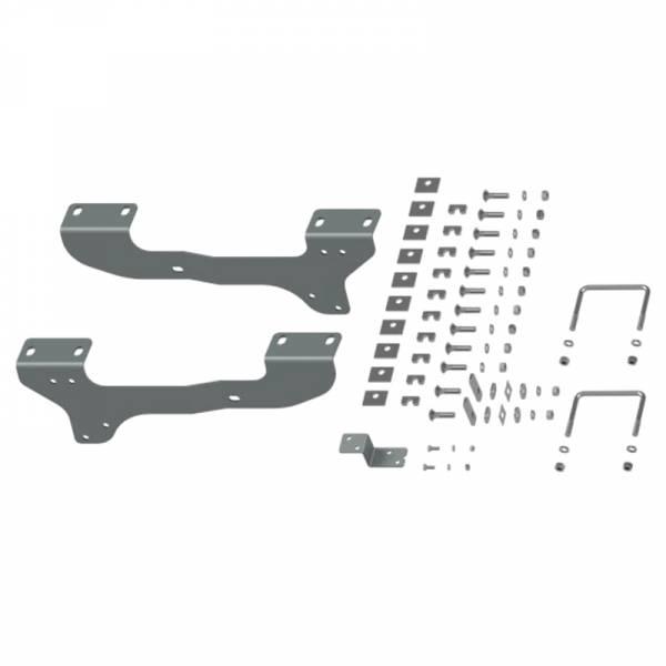 B&W - B&W RVR2503 Universal Mounting Rails with Custom Installation Brackets for Chevy Silverado and GMC Sierra 1500 2007-2018