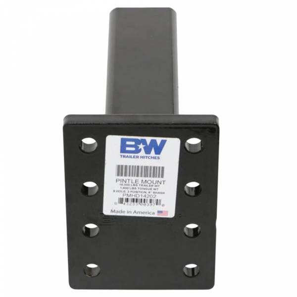 B&W - B&W PMHD14202 Heavy Duty Pintle Mount Plate