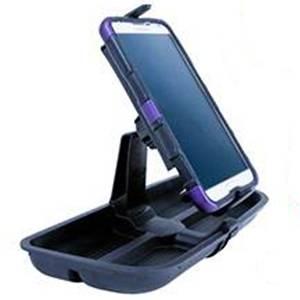 Daystar - Daystar KJ71057BK 11-17 Upper Dash Panel with Large I Phone and I Phone Plus Mini Pad Mount Black