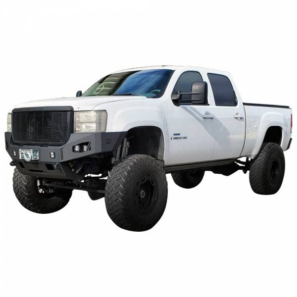 Chassis Unlimited - Chassis Unlimited CUB940311 Octane Winch Front Bumper for GMC Sierra 2500/3500 HD 2007-2010