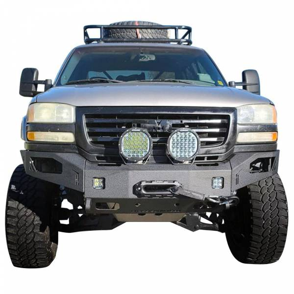 Chassis Unlimited - Chassis Unlimited CUB940501 Octane Winch Front Bumper for GMC Sierra 2500/3500 2003-2006