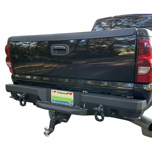 Chassis Unlimited - Chassis Unlimited CUB910501 Octane Rear Bumper for GMC Sierra 1500/2500/3500 1999-2007