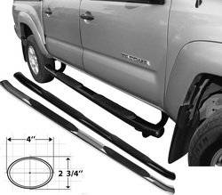 Go Rhino - Go Rhino 64107PS Xtreme OE Style Side Bar Dodge Ram 2500 3500 Mega Cab 2010-2012