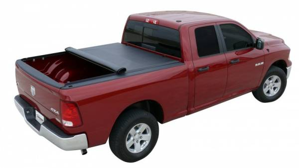 "Access - Access 44209 Lorado Roll Up Tonneau Cover Dodge Dakota CrewCab 5'4"" bed With Utility Rail 2008-2010"