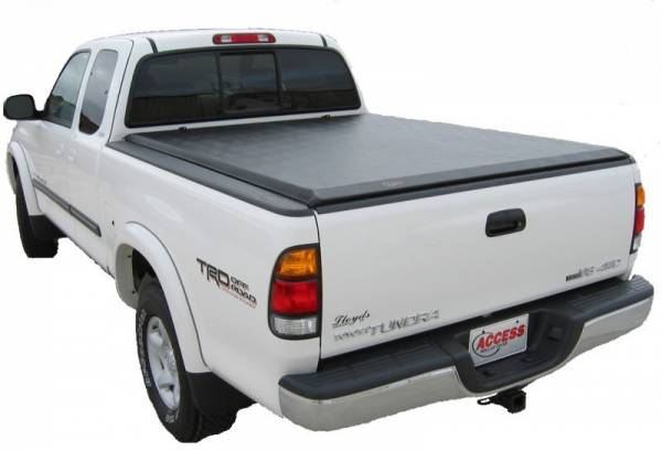 Access - Access 45259 Lorado Roll Up Tonneau Cover Toyota Tundra 8' Bed With Deck Rail 2007-2013