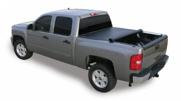 Access - Access 22030209 TonnoSport Roll Up Tonneau Cover Nissan Titan KingCab Long Bed 8ft 2 Clamps on with or without Utili-track 2008-2010