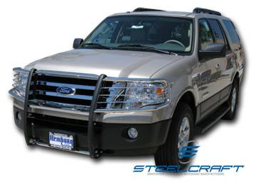 Steelcraft - Steelcraft 51020 Black Grille Guard Ford Expedition (1999-2002)