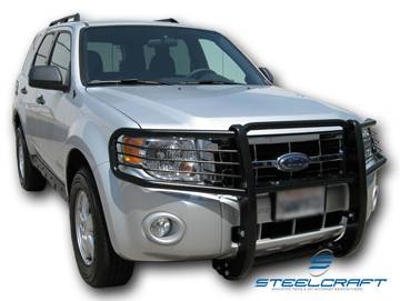 Steelcraft - Steelcraft 51330 Black Grille Guard Ford Escape (2008-2013)