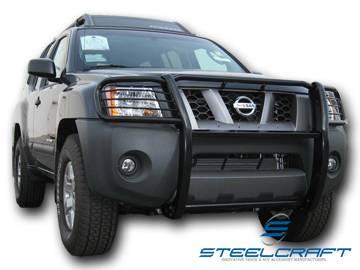 Steelcraft - Steelcraft 54120 Black Grille Guard Nissan Xterra (2005-2013)