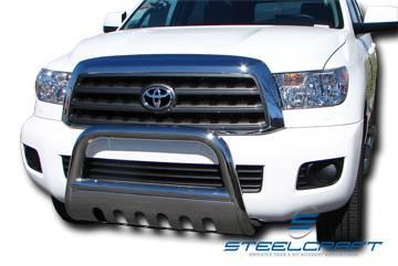 "Steelcraft - Steelcraft 73360B 3"" Black Bull Bar Toyota 4Runner2010-2016 (Not 2014-2016 Limited)"