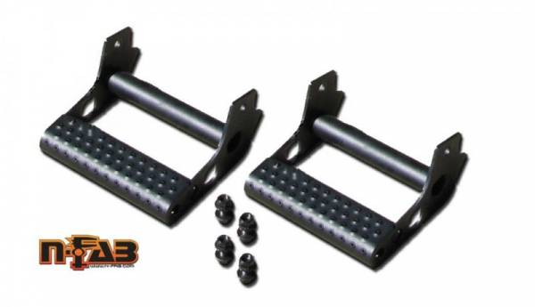 N-Fab - N Fab JPTS32 Universal Rock Rail Detachable Step (Pair)