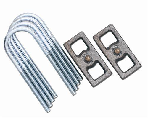 "Rubicon Express - Rubicon Express RE1215 Block & U-Bolt Kit 1.5"" C8.25"