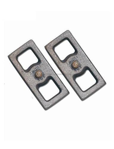 "Rubicon Express - Rubicon Express RE1280 Lift Blocks 2.5"" Taper Pair"
