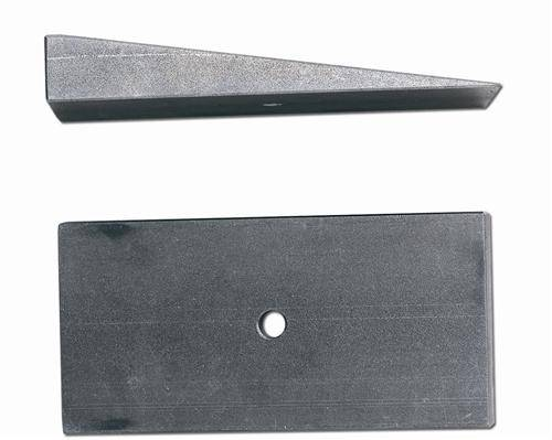 "Rubicon Express - Rubicon Express RE1469 Degree Shim 2.5"" X 8* Steel"