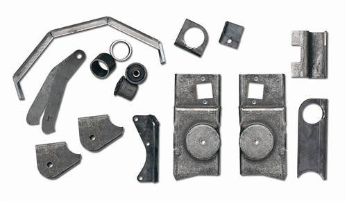 Rubicon Express - Rubicon Express RE9968 Jeep TJ Axle Bracket Kit Front