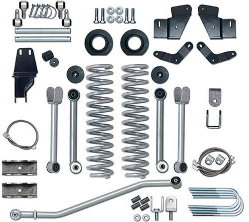 "Rubicon Express - Rubicon Express RE6500 5.5"" Extreme-Duty Kit with Rear SOA Jeep MJ 1984-2001"