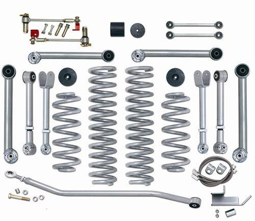 "Rubicon Express - Rubicon Express RE7000-3 3.5"" Super-Flex Kit Jeep TJ/LJ"