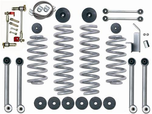 "Rubicon Express - Rubicon Express RE7003 3.5"" Super-Flex Kit Jeep TJ/LJ"