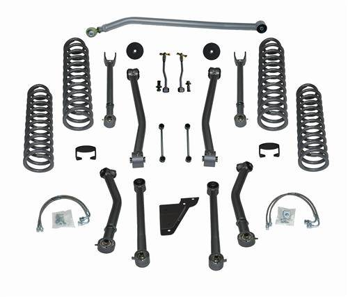 "Rubicon Express - Rubicon Express RE7143 3.5"" Super-Flex Kit 4 Door Jeep JK 2007-2012"