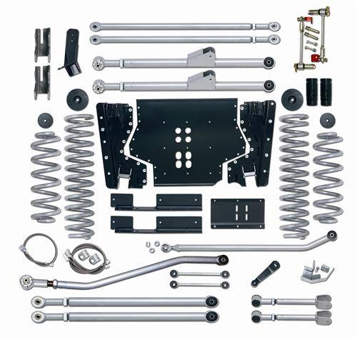 "Rubicon Express - Rubicon Express RE7225 Long Arm Kit 5.5"" Jeep LJ Unlimited 2004-2006"