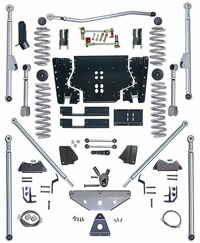 "Rubicon Express - Rubicon Express RE7525 Long Arm Kit with Tri Link 5.5"" Jeep LJ Unlimited 2004-2006"
