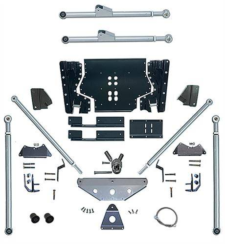 Rubicon Express - Rubicon Express RE7532 Long Arm Upgrade Kit with Tri-Link Jeep LJ Unlimited