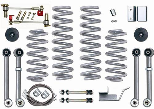 "Rubicon Express - Rubicon Express RE8003 3.5"" Super-Flex Kit Jeep ZJ 1993-1998"