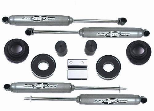 "Rubicon Express - Rubicon Express RE8530 Jeep WJ 2"" Budget Boost Kit Includes Shocks"