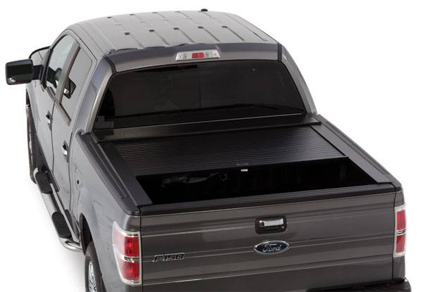"Truck Covers USA - Truck Covers USA CR542 American Roll Tonneau Cover Nissan Titan Long Bed 7ft. Bed 84"" 2008-2012"