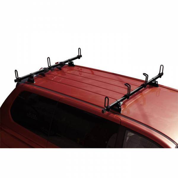 "Vantech - Vantech M2005B Universal Rack System with 50"" Cross Bars Black Steel Drilling Required"