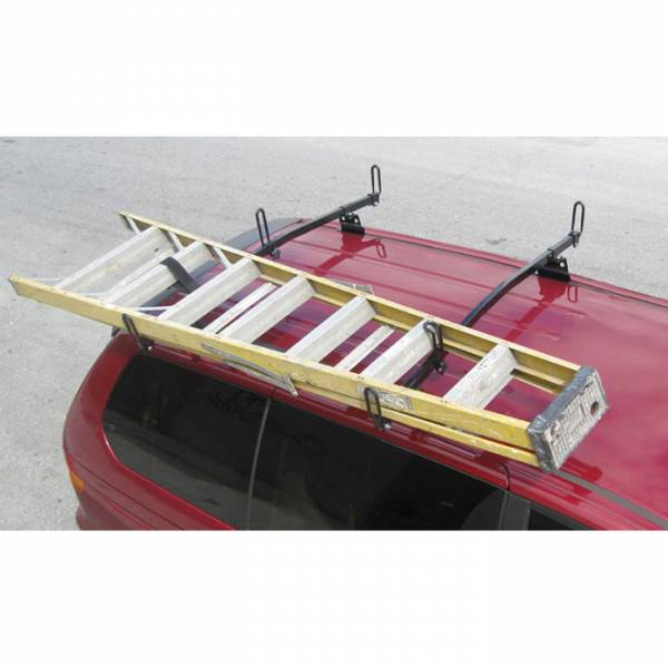 "Vantech - Vantech M3100W Universal Rack System with 59"" Angled Cross Bars White Aluminum Drilling Required"