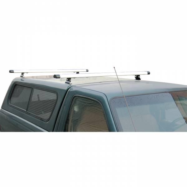 Vantech - Vantech J1024S Rack System Silver Aluminum 59 Inch Width Pickup Toppers & Caps Universal