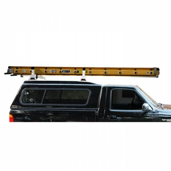 Vantech - Vantech H1093B 2 Bar System Black Aluminum 42-1945 Inch Width Pickup Toppers & Caps Universal