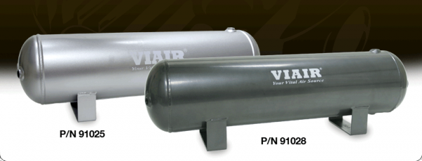 "Viair - Viair 91025 2.5 Gallon Air Tank | Six 1/4"" NPT Ports 150 PSI Rated"