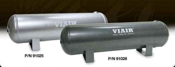 "Viair - Viair 91028 2.5 Gallon Air Tank | Six 1/4"" NPT Ports 200 PSI Rated"