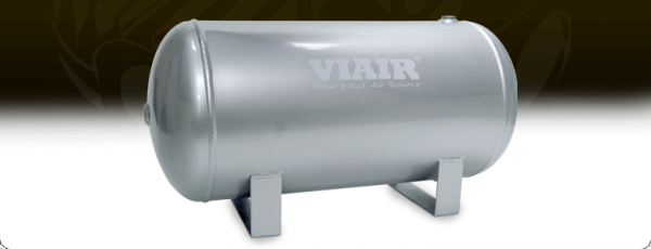 "Viair - Viair 91050 5.0 Gallon Air Tank | Two 1/4"" NPT Ports & Two 3/8"" NPT Ports 150 PSI Rated"