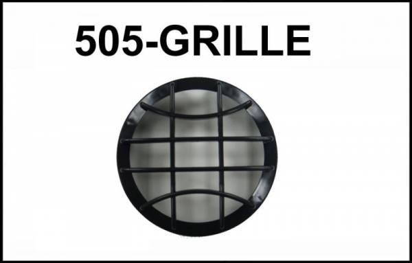 "Eagle Eye Lights - Eagle Eye Lights CV-505-GRILL Black Grille Guard for 4 31/32"" HID505 and Non-HID HG505 Lights with Wording ""HID"" Each"