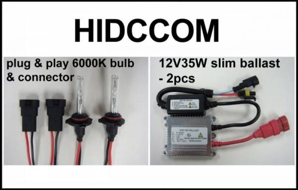Eagle Eye Lights - Eagle Eye Lights HIDCCOM 2011-2012 Can Am Commander 35W HID Kit