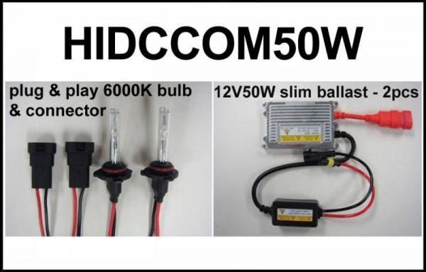 Eagle Eye Lights - Eagle Eye Lights HIDCCOM50W 2011-2012 Can Am Commander 50W HID Upgrade Kit
