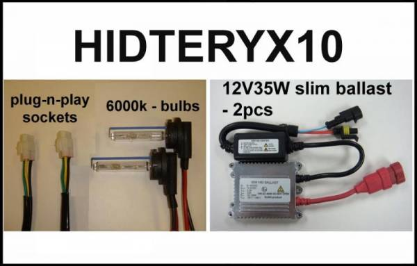Eagle Eye Lights - Eagle Eye Lights HIDTERYX10 2010-2012 Kawasaki Teryx 35W HID Kit